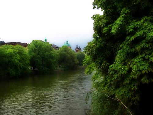 Мюнхен. На реке